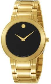 movado stiri gold stainless steel men s watch 0606195 watchtag com movado stiri gold stainless steel men s watch 0606195