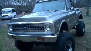 Lifted 1972 chevy k10 - YouTube