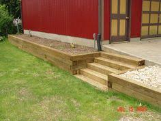 Small Picture How to Build a Timber Retaining Wall Landscaping contractors