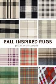 fall pattern on rugs