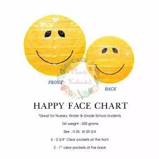 Happy Face Pocket Chart