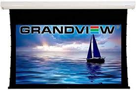 "Grandview Cyber Series 120"" Electric Motorised and Tab <b>Tensioned</b> ..."