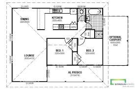 the alberta granny flat floor plan