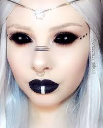 25 scary but cute makeup ideas to try for