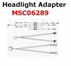 boss boss headlight adapter msc06289 hb3 hb4 nissan
