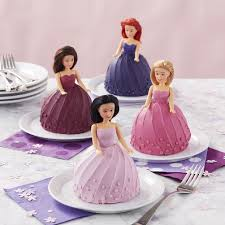 Mini Wonder Mold Doll Cakes Wilton
