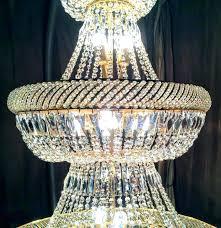 teardrop glass chandelier brasodern giant lamp crystal teardrops century pink teard