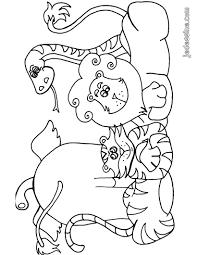 95 Dessins De Coloriage Animaux D Afrique Imprimer