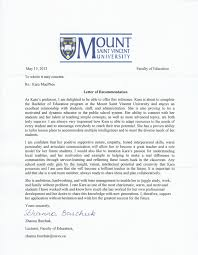 letter of academic recommendation recommendation letter  academic
