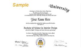 university degree certificate sample sample degrees fast degrees online