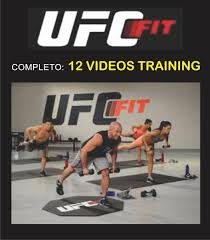 ufc fit workout via correio ou carregando zoom