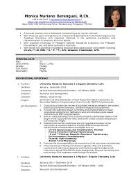 Chemist Resume Inspiration Berenguel MM Resume Chemist