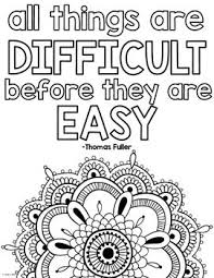 Click the image below to download the printable pdf growth mindset signs. Growth Mindset Coloring Pages Teaching Growth Mindset Quote Coloring Pages Growth Mindset