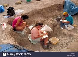 Amateur archeology dig south dakota