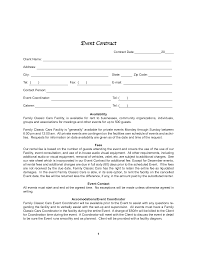 Event Coordinator Contract Template Sample Event Planner Contract Agreement Besikeighty24co 24