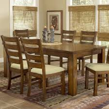 photos 3503 dark real wood dining table with chairs and