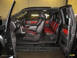 ford raptor black interior. Contemporary Black Raptor BlackOrange Interior 2010 Ford F150 SVT SuperCab 4x4 Photo  59607771 On Black A