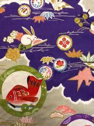 Echino Kokka Japan Origami Cranes Bunnies Koi Fish Cute Kawaii ... & Echino Kokka Japan Origami Cranes Bunnies Koi Fish Cute Kawaii Cotton Quilt  Fabric SALE! CS242 Adamdwight.com