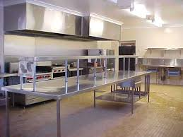 inless steel commercial kitchens