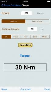 Newton Meters To Foot Pounds Conversion Chart Torque Calculator Units Conv