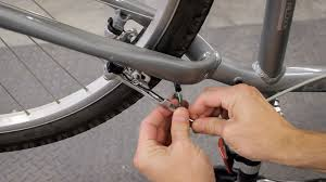 a bicycle brake cable connection