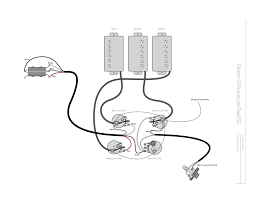 gibson les paul humbucker wiring diagram solution of your wiring a more flexible 3 pickup gibson haze guitars rh hazeguitars com gibson les paul 3 pickup wiring diagram dual humbucker wiring diagram