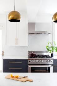 plenty of counter space in stylish functional kitchen