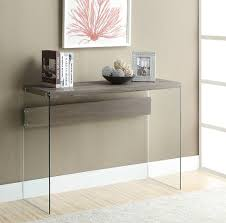 small entryway table. Monarch Specialties I Console Sofa Table Images With Terrific Glass Entry Decor Small Entryway Top Foyer Tables And Chrome Hall Iro