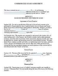 free lease agreement word doc commercial lease proposal template free commercial lease agreement