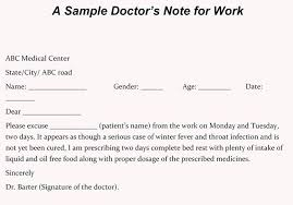 Making A Doctors Note Livencircle Co