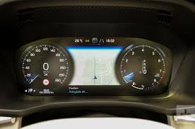 2018 volvo manual transmission. wonderful 2018 the 2018 volvo xc60u0027s speedometer area showing off its navigation feature for volvo manual transmission