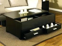 modern coffee table storage black storage coffee table modern coffee table in mid century modern coffee