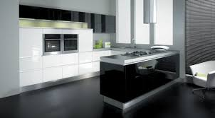 Lovely Winsome Design Kitchen In Black And White Designs Now Is The Time For You  To On Home Ideas. « » Design Inspirations