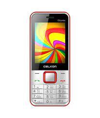 Celkon C9 Jumbo(White & Red ...