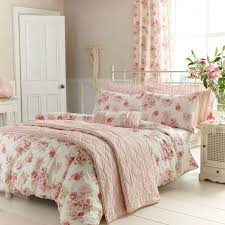 cosy home traditional pink fl duvet