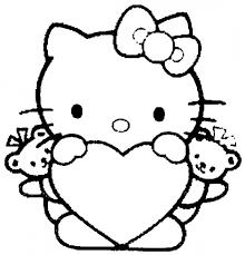 Miglior Collezione Disegni Da Colorare Hello Kitty Per Bambini
