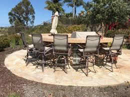 elegant high end aluminum patio furniture set of 5 mallin high end aluminum outdoor patio furniture