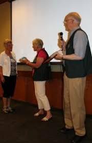 Wenatchee Area Genealogical Society - WSGS Award Fred Pflugrath