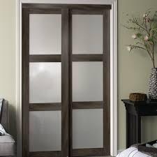 Beautiful Baldarassario 3 Lite 2 Panel MDF Sliding Interior Door