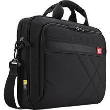 <b>Case Logic Laptop</b> Briefcase, Black Polyester (DLC-115-BLACK ...