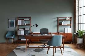 west elm office desk. Mid-Century Private Desk With Drawers By West Elm Workspace Office R
