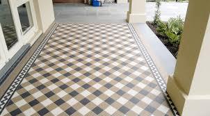 clean grout between floor tiles at home