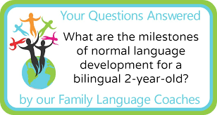 2 Year Old Milestones Chart What Are The Milestones Of Normal Language Development For A