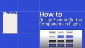 Button Design How To Design Flexible Button Components In Figma Ux Ui Design