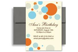 Microsoft Word Birthday Invitation Template Microsoft Word Birthday