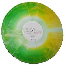 basement colourmeinkindness vinyl. Yellow / White Green Starburst Basement Colourmeinkindness Vinyl