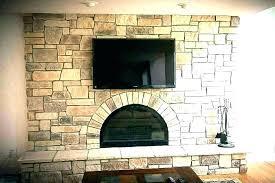 refinish brick fireplace fireplace brick refinishing project modern family room