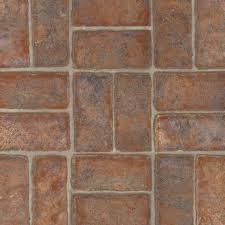 mesita vinyl sheet colonial red b6162 brick vinyl flooring