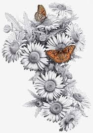 букет полевых цветов тату тату сирень значение эскизы значение