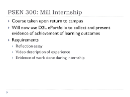 assessment of industrial internships karyn biasca ppt  8 psen